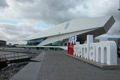EYE Filmmuseum Amsterdam - Architects Roman Delugan en Elke Delugan-Meissl
