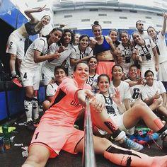 En la semi finales de la Copa Libertadores de América femenina.