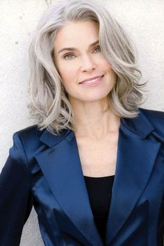Long Grey Hairstyles Interesting Long Grey Hairstyles  Long Hairstyle For Grey Hair  Hair