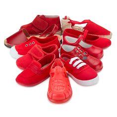 Zapatos rojos de Pisamonas.