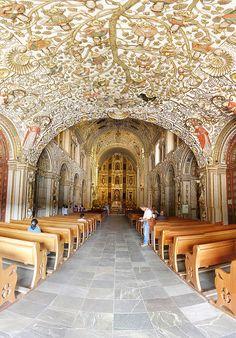 Iglesia de Santo Domingo y su techo asombroso, Oaxaca