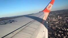 B737-800 da Gol Linhas Aéreas - Decolando de Porto Alegre (POA)