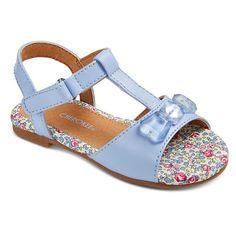 Toddler Girls' Kit Slide Sandals - Assorted Colors : Target