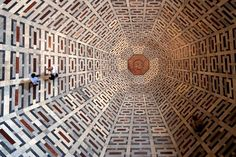 Patterns on the floor of the Florence Cathedral.