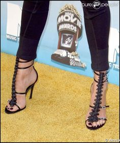 Chaussure de Charlize Theron - Photos
