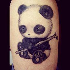 #panda #pandatattoo #pandatattoos #pretty #prettytattoo #prettytattoos #cute #cutetattoo #cutetattoos #cutegirlytattoos #girly #girlytattoo #girlytattoos #tattoo #tattoos #tatted #tattooed #ink #inked