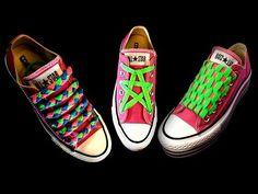 Aprende a amarrar tus agujetas en forma estrella Ways To Lace Shoes 0b1349b2e