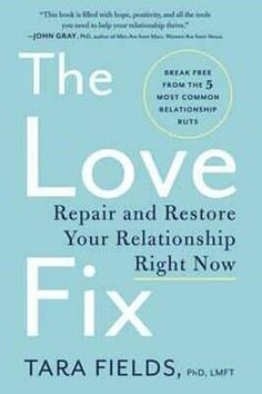 All couples argue, but how do some couples get to what seems like the point of no return?    Licensed marriage and family therapist Dr. Tara Fields has spent more than twenty-eight years working with couples, and she has discovered that there are five common conflict loops that couples fall into—and three steps to getting past having the same fights over and over again and onward to building a relationship where each partner feels heard, understood, respected, and loved…