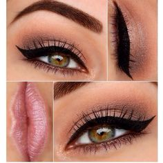 Naked 3 look - Used liar mixed with burnout on the lid, and nooner and dark side on the crease/ outer lid. Megsmakeupxo