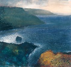 Kurt Jackson -                                                             this is what the sea looks like from higher up