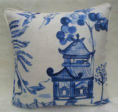Willow' Oriental Design Cushion
