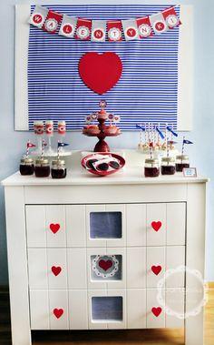 Przyjęcie walentynkowe, karteczki do druku, cake pops, push pops, Valentines Day Party, My Furniture, Cake Pops, Advent Calendar, Shabby, Holiday Decor, Crafts, Craft Ideas, Chic