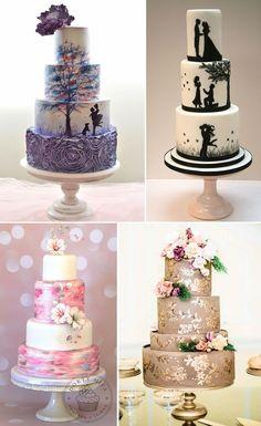Moderne vjencane torte