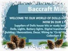 Baccraftminiatures.com is the family run business dealing for Baccraft miniatures, Cheap doll house, Childrens furniture sets and Collectible dolls houses.