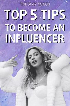 How to become an influencer. These are my top 5 tips for becoming a person with influence in business and social media. Blog post by The Slay Coach #influencer #socialmedia #influencertips #influencermarketing Social Media Tips, Social Media Marketing, Marketing Strategies, Business Tips, Online Business, Business Coaching, Influencer Marketing, Instagram Tips, Growing Your Business