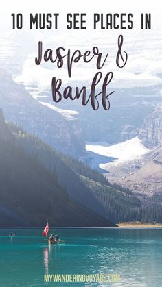 10 places you must stop between Jasper and Banff, Alberta. No Canadian trip is complete without experiencing Jasper National Park and Banff National Park. Here's what you should see in Canada's top tourist destination. My Wandering Voyage travel blog. Travel in North America.