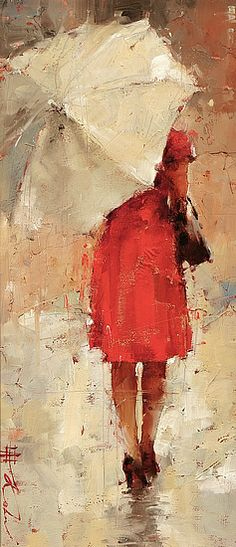 Summer Drizzle by Andre Kohn - Greenhouse Gallery of Fine Art