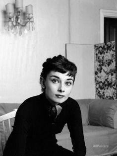 Audrey Hepburn, September 1954 Fotodruck bei AllPosters.de