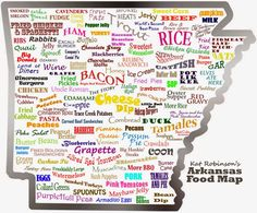 Where to eat on your trip from Little Rock Ar to Fayetteville.
