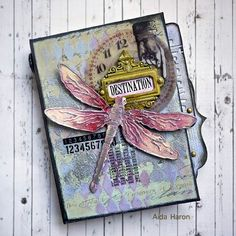 Hello everyone, thank you for coming by and today, I have a Mini-book designed for the Tim Holtz Media Team . As paper-crafters, we always look for ways to add texture, colour and dimension to our work. No time is as wonderful as now to be using mediums as continuing improvements on products have…