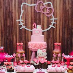 Festa Hello Kitty | 3 anos da Celina {Decoração: Let's Make Eventos | Foto: Estúdio Gisele Oneda}