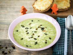 Groene soep met ciabatta Recept | HelloFresh