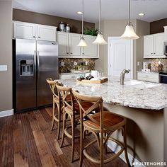 125 best Kitchen Designs images on Pinterest | Pulte homes, Cuisine ...
