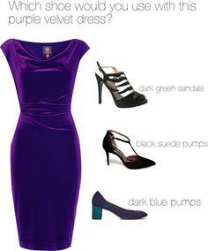 purple velvet dress - vestido de veludo roxo