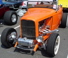 1932 Ford Roadster.  Don't care for the headers.  But everything else about this car is perrrrrfect.