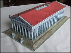 Temple of Artemis paper model