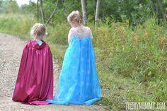 Sew an Elsa Inspired Frozen Snow Princess Dress