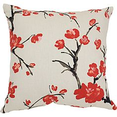 @Overstock - This Flowering Branch throw pillow from Pillow Perfect will compliment any room's decor. Red blossoms bloom on a beige, cotton background on this pretty pillow. http://www.overstock.com/Home-Garden/Pillow-Perfect-Flowering-Branch-Throw-Pillow/6428457/product.html?CID=214117 $22.62