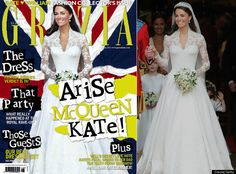 "Kate Middleton's Waist Photoshopped. For starters, if your going to photoshop/digitally alter someone's body, especially a royal figure, at least do a decent job! Although I am against photoshopping, this was horribly done. I think she looked great in the ""original."" Seems like Kate is really getting the royal treatment by constantly being photoshopped. http://www.nydailynews.com/entertainment/gossip/kate-middleton-photoshop-treatment-cover-marie-claire-south-africa-article-1.1116253"
