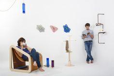 swART - A Relaxation Corner | Furniture Design by SwartLab