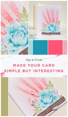 Today Anna shares two things: this inspiring beautiful handcrafted card and second, some tips on creating a card that is simple but looks very unique. Visit our blog and don't miss the chance to know some of her tips and tricks in cardmaking. www.altenew.com