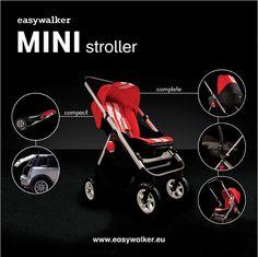 בייבי קלאב 101: איזי ווקר מיני קופר / Easywalker MINI #baby #babies #stroller #pram #minicooper #easywalker #june