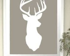Image result for deer head images to color