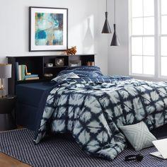 Queen Size Bookcase Headboard Bedroom Mattress Furniture With Storage