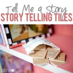 storytelling tiles  #howdoesshe #storytiles #tiles #familytime #giftideas #story #creativestorytime howdoesshe.com