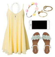 """sunny day"" by amysykes-697 ❤ liked on Polyvore featuring Oneness, Forever 21, ASOS and Kardashian Kollection"