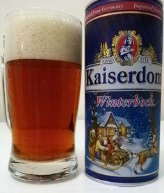 Cerveja Kaiserdom Winterbock, estilo Maibock/Helles Bock, produzida por Kaiserdom Privatbrauerei, Alemanha. 7.5% ABV de álcool.