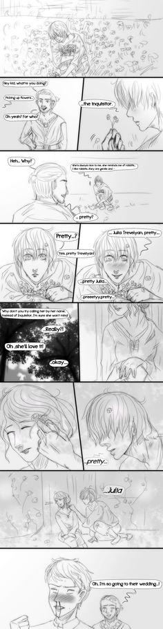 Dragon Age Inquisition- Comic- Pretty by MsArtisticStuff.deviantart.com on @DeviantArt
