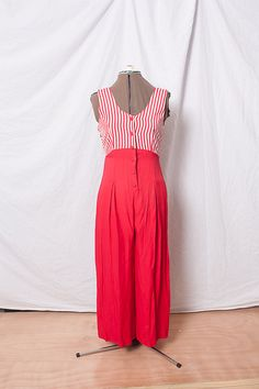 Vintage  Romper Outfit (XS-S)