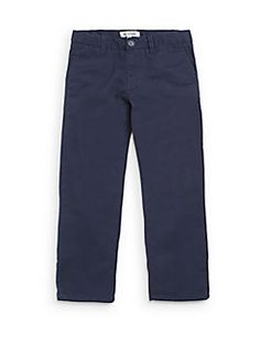 Toddler's & Little Boy's Twill Pants