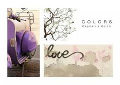 Progetto Colors_Cagliari a Colori * Postcards Purple