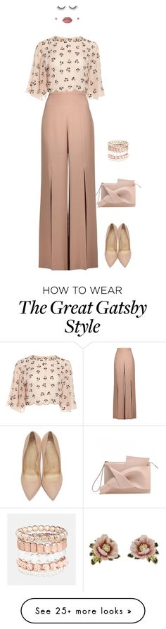 """Spring Work Wear"" by crystal-castleberry on Polyvore featuring Cushnie Et Ochs, Charlotte Olympia, Les Néréides, Lime Crime, tarte and Avenue"