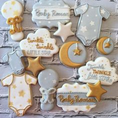Baby Showers Twinkle Twinkle Twinkle Little Star Baby Shower Cookies For more info on how to order or...