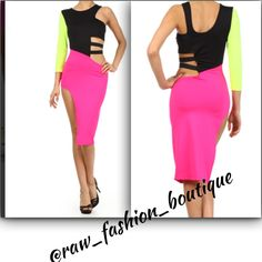 Going Out With The Girls Show Stopper Dress www.rawfashionboutique.co Shop and Save!!! Sign up for our newsletters!!! Visit our website and check out new arrivals