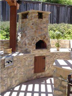 Outdoor Pizza Oven.
