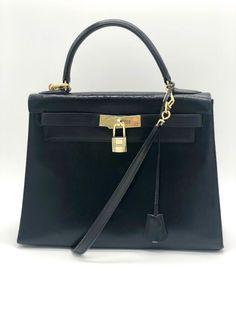 5b69ef116 Plateforme de ventes aux enchères en ligne Catawiki : Hermès - Kelly 28 Sac  à main